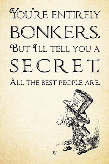 You're Entirely Bonkers