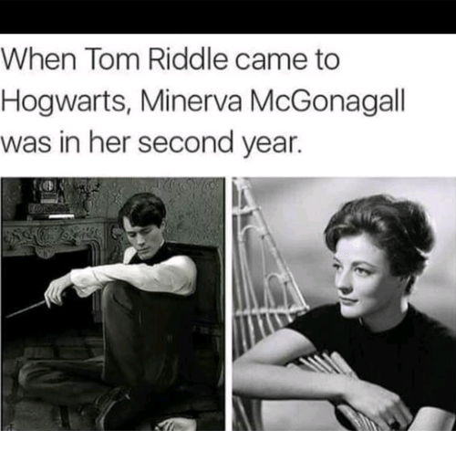 When Tom Riddle Came