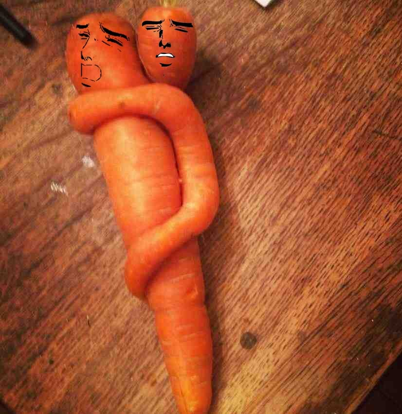 I love you all as much as I love this carrot
