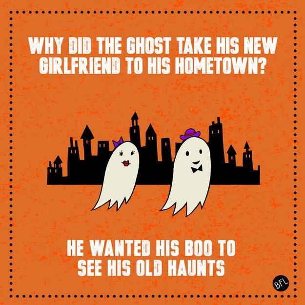 why did the ghost take his new girlfriend